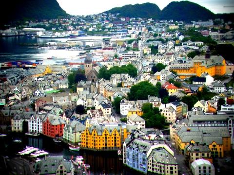 Ålesund, Norway. © Karen Edwards